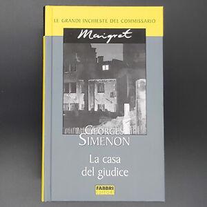 Georges Simenon LA CASA DEL GIUDICE Fabbri Editori 2004 cop.rigida