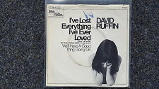 David Ruffin - I've lost everything I've ever loved 7'' Single GERMANY