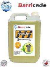 5L barricada Wheelie Bin más limpio y desodorante-Limón