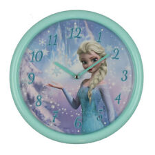 Frozen Disney Elsa Children's Wall Clock for Girls 11-di220 Analogue