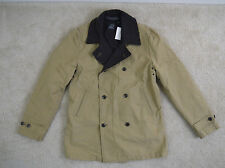 $318 J.Crew Hunting peacoat Tan Medium  item 26284 NWT!