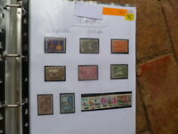 SELANGOR  MALAYSIA USED  FLOWERS & BUTTERFLIES 14  STAMPS SG 128 TO 142