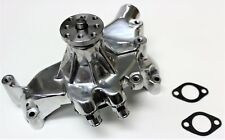 CHEV BIG BLOCK BBC ENGINE WATER PUMP POLISH ALLOY SHORT PUMP 396-427-454 HOTROD