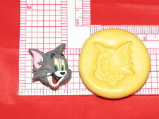 Tom Cat Silicone Mold #97 For Chocolate Candy Resin Fimo Soap Candle Craft