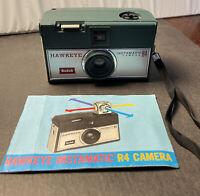 Vintage Kodak Hawkeye Instamatic Camera R4  with original Manual untested as is