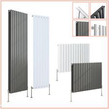 Designer Radiator Flat Panel Oval Column Central Heating Rad Single Double