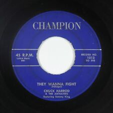 Rockabilly 45 - Chuck Harrod & the Anteaters - They Wanna Fight - Champion - mp3