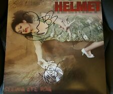 Rare! SEEING EYE DOG Double Vinyl Album by HELMET Signed by all