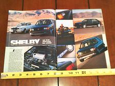 1986 SHELBY GLHS vs. 1965 SHELBY GT350 - ORIGINAL ARTICLE