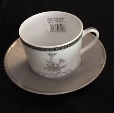 Christofle Fleur d'Argent Flat Cup and Saucer ~new~