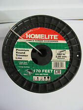 "NEW HOMELITE 98011-06 Round Trimmer String Line .080"" 1,170' 1170 Ft Weed Grass"
