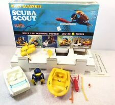 Eldon Billy Blastoff Space Scuba Scout Works Box Complete Bilingual Insert VTG