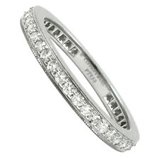 Tiffany & Co. Legacy Platinum 2mm Eternity Diamond Band Ring  $3,675