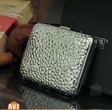 Brand Cigarette case. brass vintage antique Relief context. Quality collectible