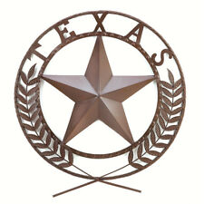 25 Metal Texas Lone Star State Wall Plaque Wreath Indoor Outdoor Sign American