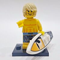 """LEGO Collectible Minifigure #8684 Series 2 """"SURFER"""" (Complete)"""