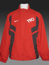 New Nike TOTAL 90 FOOTBALL Tracksuit Jacket Red Adults Medium