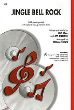 Jingle Bell Rock SATB Learn to Play Vocal Choral Choir Sing Christmas Music Book