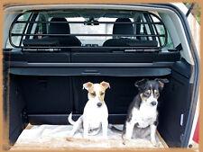 Divisorio auto / griglia divisoria in metallo per trasporto sicuro cani/bagagli