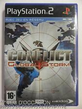 COMPLET Jeu CONFLICT GLOBAL STORM playstation 2 sony PS2 francais action combat