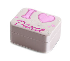 Girls Pink Ballet Jewellery Box Christmas Stocking Filler Gift By Katz JB-2266