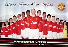 MANCHESTER UNITED 2011 SOCCER POSTER - GLORY GLORY MAN
