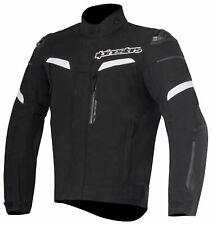 Alpinestars Pikes Waterproof Motorbike Motorcycle Jacket Mens Black M Medium