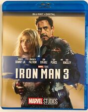 MARVEL IRON MAN 3 BLU RAY FREE WORLD WIDE SHIPPING BUY IT NOW ROBERT DOWNEY JR