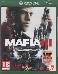 Mafia 3 III Xbox One Brand New Factory Sealed