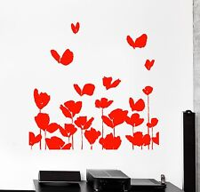 Wall Vinyl Decal Bedroom Flower Floral Nature Positive Amazing Living Room z3945