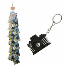 Key Chain Camera Mini Paparazzi Ring Flashing Light & Sound LED Novelty Pocket