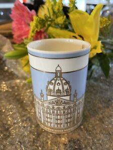 Harrods Knightbridge Store Front Fine Bone China Coffee Mug NWT Org Price L16.95