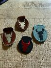 1990s/2000s/Afghanistan? 4-US ARMY PATCHES-34th INFANTRY DIVISION-ORIGINALS!