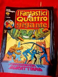 I FANTASTICI QUATTRO Gigante Lotto 2 numeri 2 + 3 Buono/Ottimo stato