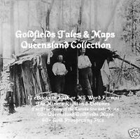 CD - Gold Fields Tales & Maps Queensland Collection - 20 ebooks, 60+Maps