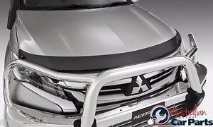 BONNET PROTECTOR Tinted suits Mitsubishi Pajero Sport Genuine 2016-2017 MZ350503