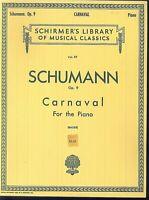 Schumann - Carnaval Op. 9 - Piano
