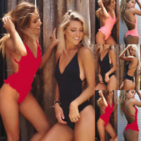 One Piece Swimsuit Women's Bikini Push Up Suit Swimwear Sexy Monokini Bathing
