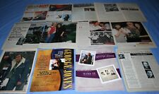 LOT of 15+ GEORGE JONES Promo Magazine Article Photo Clippings