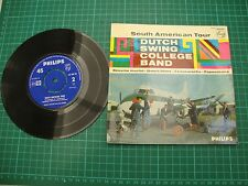 DUTCH SWING COLLEGE BAND South American Tour EP 45 Dutch pressing  7""