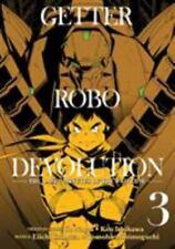 Getter Robo Devolution Vol. 3 Ishikawa, Ken LikeNew