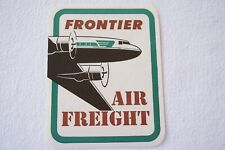More details for frontier air freight air lines airlines airline luggage label