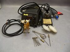 Pace Desoldering Rework Station ST85 w/ handpiece stand accessory cleaning kit