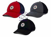 New Converse Washed Retro Trucker Mens Slouch Snapback Cap Hat