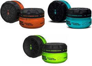 Nish Man Spider (S) Series Hair Styling Wax 150ml, Fibre Hair Wax, Nishman