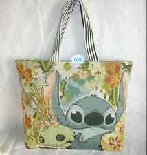 Lilo&stitch canvas big shoulder bag shopper Bag Anime Birthday Backpack Gift Hot