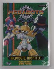 Medabots Vol. 2: Medabots, Robattle (DVD, 2002) BRAND NEW
