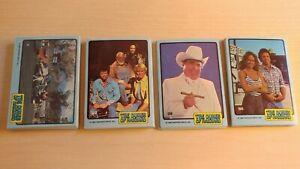 1980 Donruss Dukes of Hazzard Complete (66) Card Set - NM-MT
