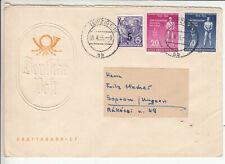 DDR, portorichtiger Auslands FDC Brief mit 459 /0