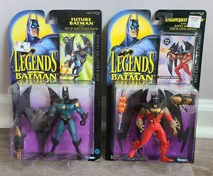 Lot of 2 1994 Legends Of Batman Future Batman & Powerquest Batman New In Package